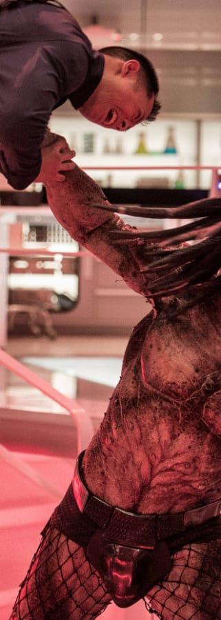 Movie still from The Predator