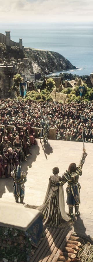 Movie still from Warcraft Fan First Event