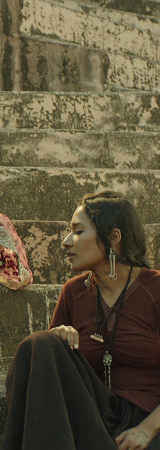 Movie still from Parched