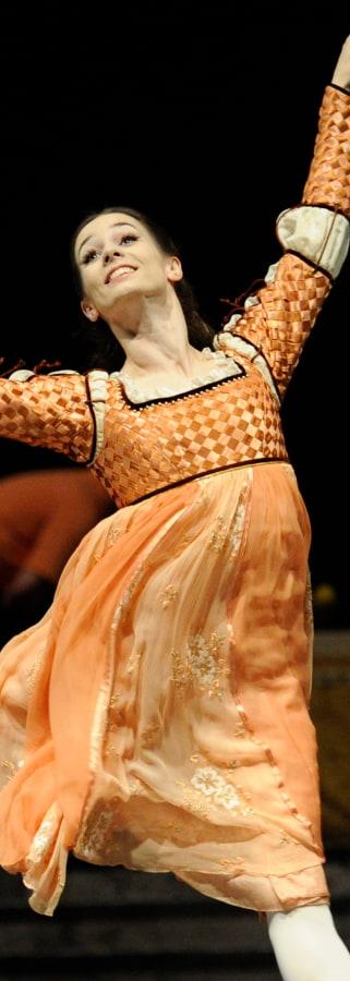 Movie still from Lincoln Center: SF Ballet's Romeo & Juliet