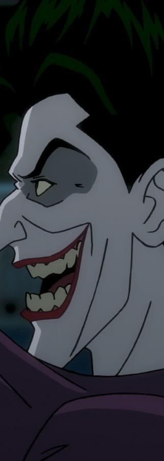 Movie still from Batman: The Killing Joke