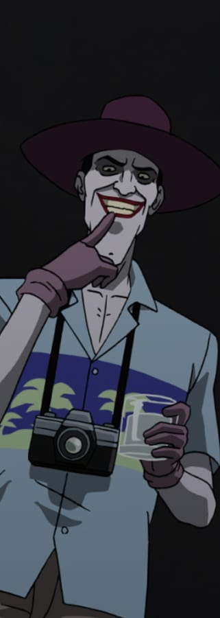 Movie still from Batman: The Killing Joke