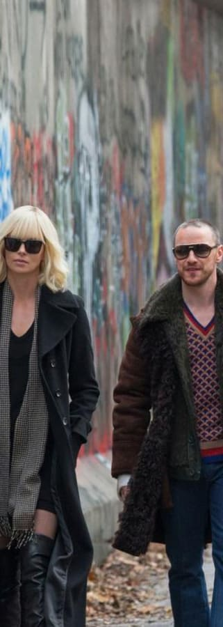 Movie still from Atomic Blonde