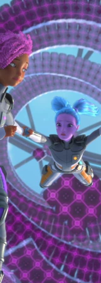 Movie still from Barbie Star Light Adventure