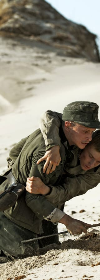Movie still from Land Of Mine