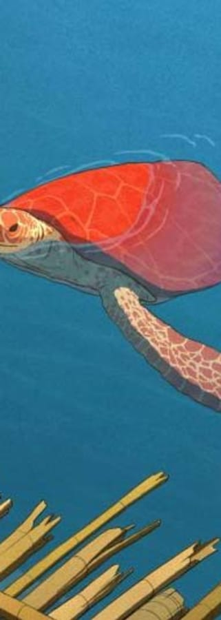 Movie still from The Red Turtle