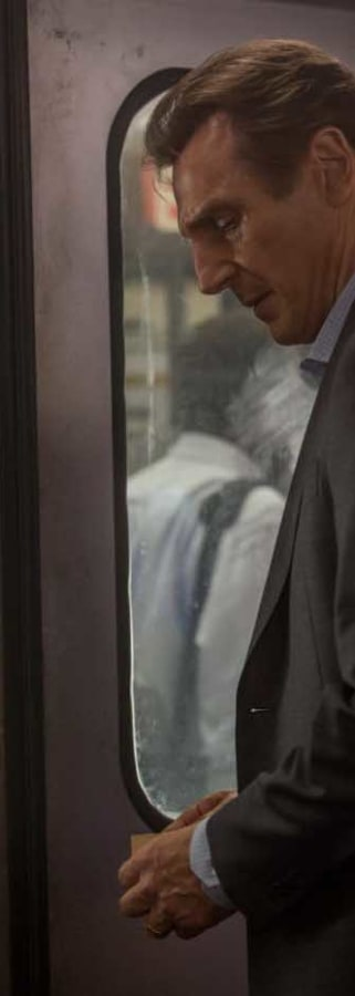 Movie still from The Commuter
