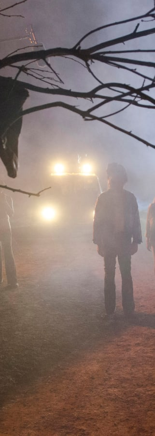 Movie still from Rob Zombie's 31