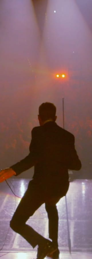 Movie still from Michael Bublé – Tour Stop 148