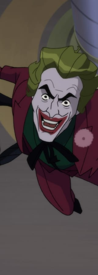 Movie still from Batman: Return of the Caped Crusaders