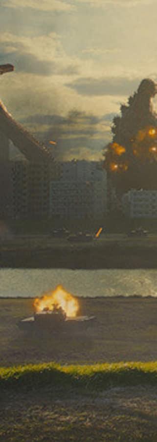 Movie still from Shin Godzilla