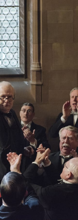 Movie still from Darkest Hour