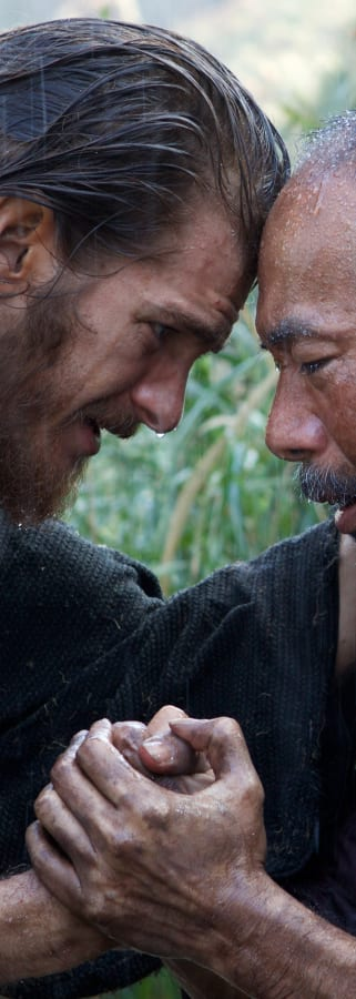 Movie still from Silence
