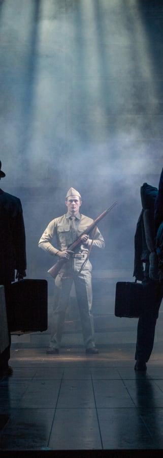 Movie still from George Takei's Allegiance on Broadway