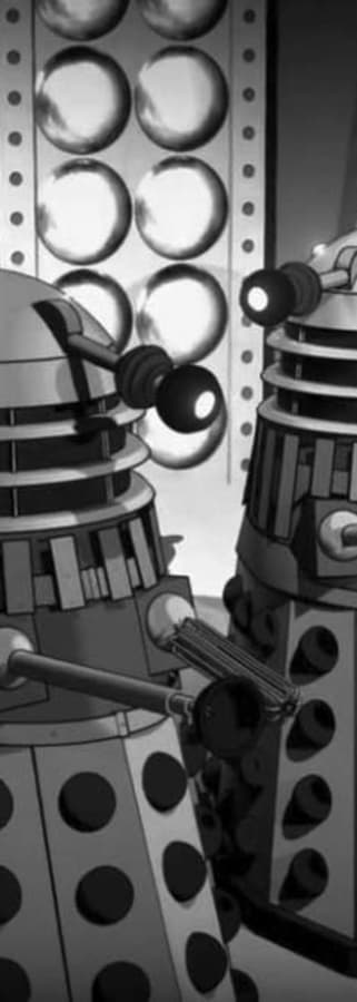 Movie still from Doctor Who (Animated): The Power of the Daleks