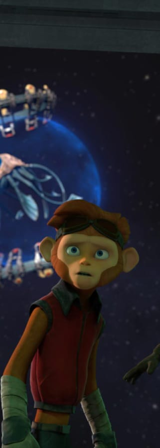 Movie still from Spark: A Space Tail