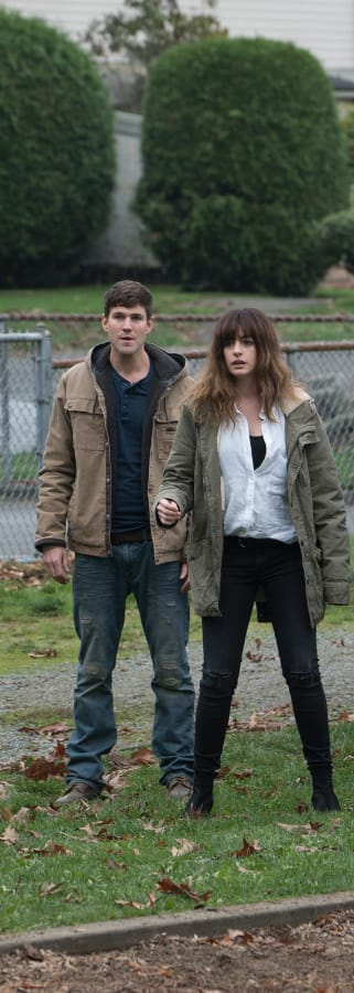 Movie still from Colossal