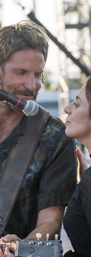 Movie still from A Star Is Born