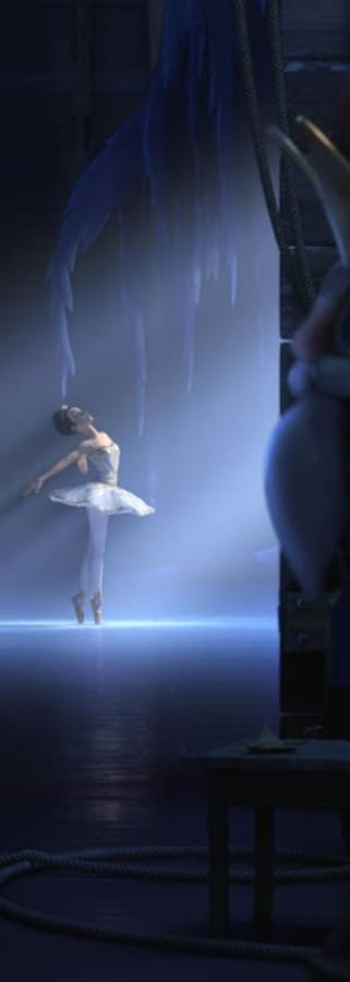 Movie still from Ballerina
