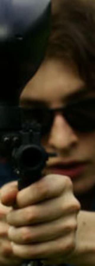 Movie still from Stray Bullets