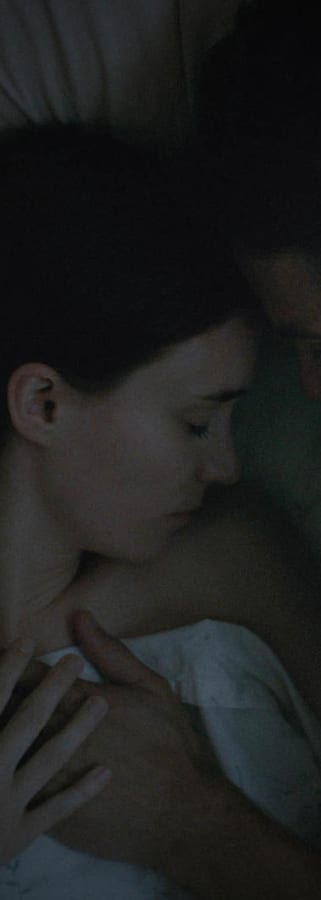Movie still from A Ghost Story