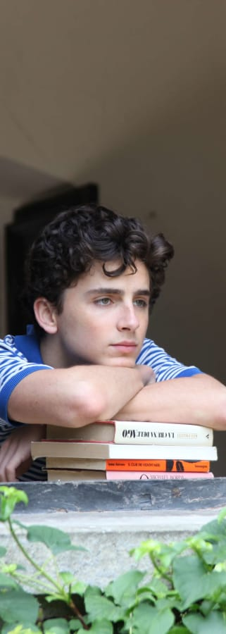 Movie still from Call Me By Your Name