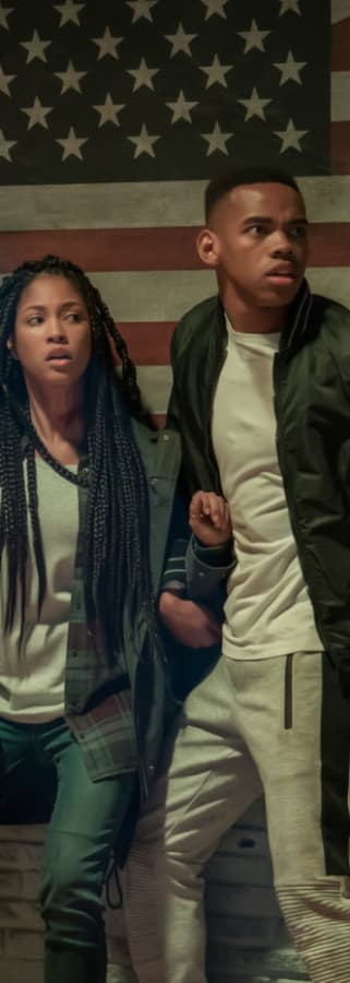 Movie still from The First Purge