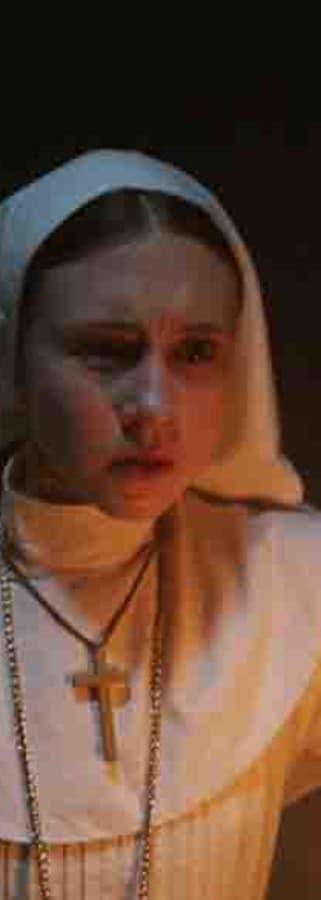 Movie still from The Nun
