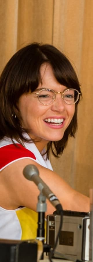 Movie still from Battle Of The Sexes