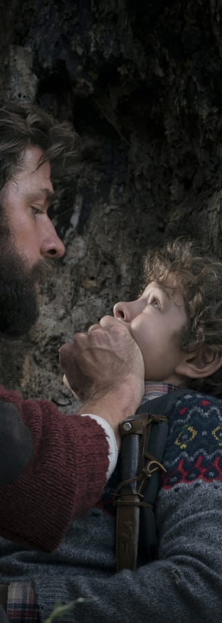 Movie still from A Quiet Place