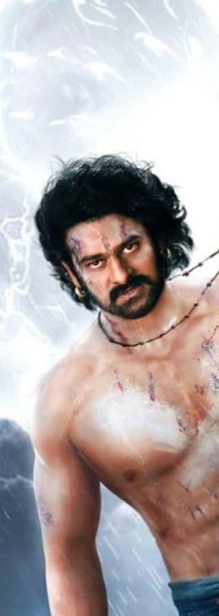 Movie still from Baahubali 2 (Tamil)