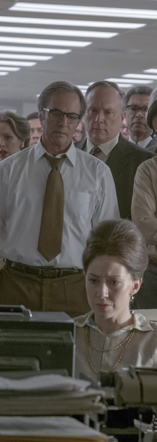 Movie still from The Post