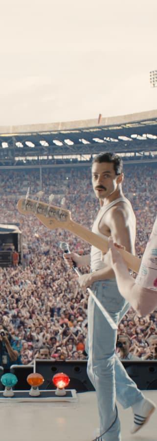 Movie still from Bohemian Rhapsody