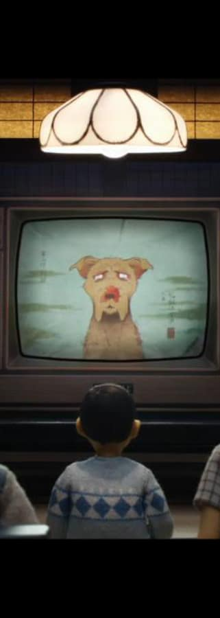 Movie still from Isle Of Dogs