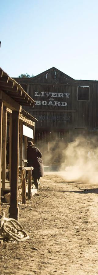 Movie still from Hickok