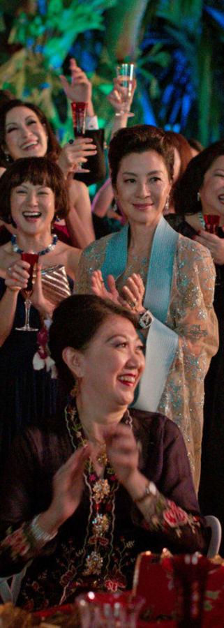 Movie still from Crazy Rich Asians