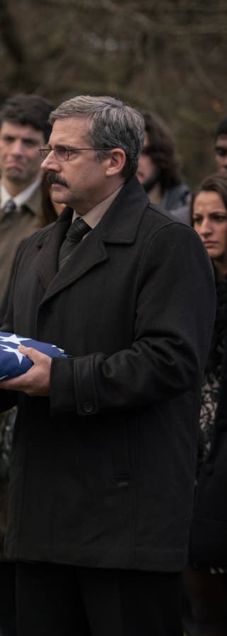 Movie still from Last Flag Flying