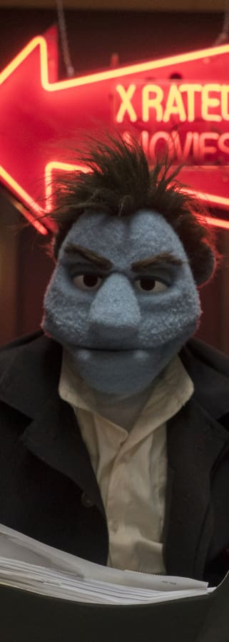 Movie still from The Happytime Murders