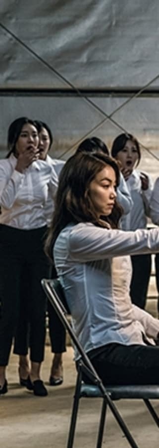 Movie still from The Villainess