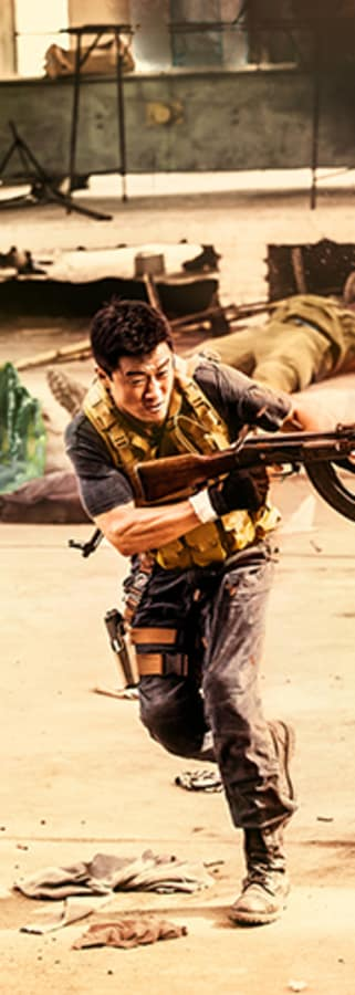 Movie still from Wolf Warrior 2