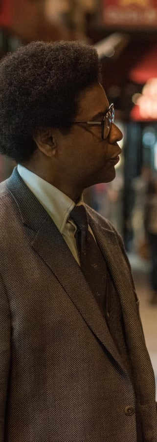 Movie still from Roman J. Israel, Esq.