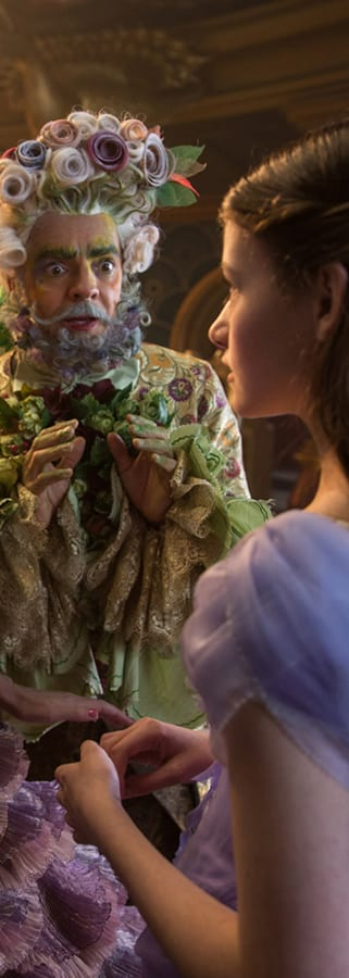 Movie still from The Nutcracker And The Four Realms