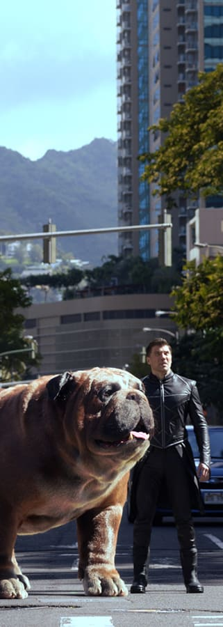 Movie still from Marvel's Inhumans