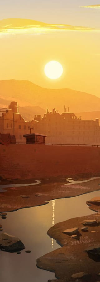 Movie still from The Breadwinner