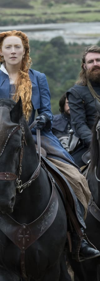 Movie still from Mary Queen Of Scots
