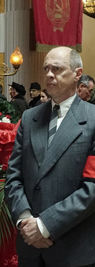 Movie still from The Death of Stalin
