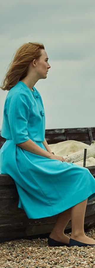 Movie still from On Chesil Beach