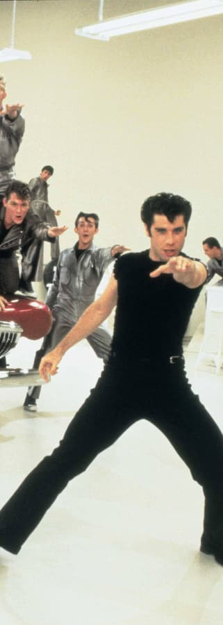 Movie still from Grease 40th Anniversary (1978) presented by TCM