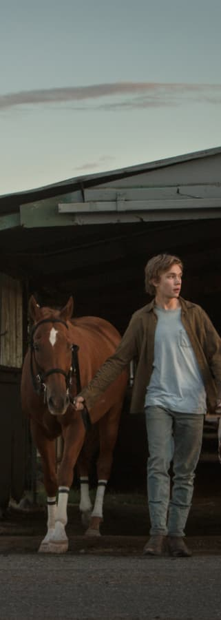 Movie still from Lean On Pete