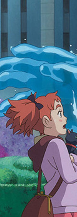 Movie still from Mary And The Witch's Flower